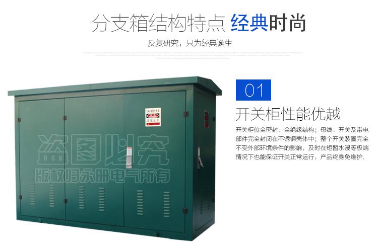 高压电缆分支箱性能特点1