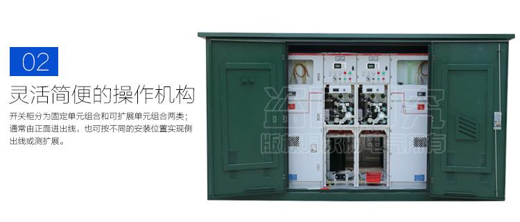 高压电缆分支箱性能特点2